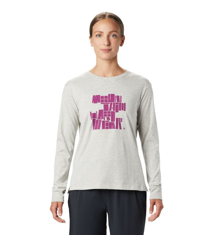 MHW/Tomomi™ Long Sleeve T | 064 | S Women's MHW/Tomomi™ Long Sleeve T-Shirt, Heather Grey, front