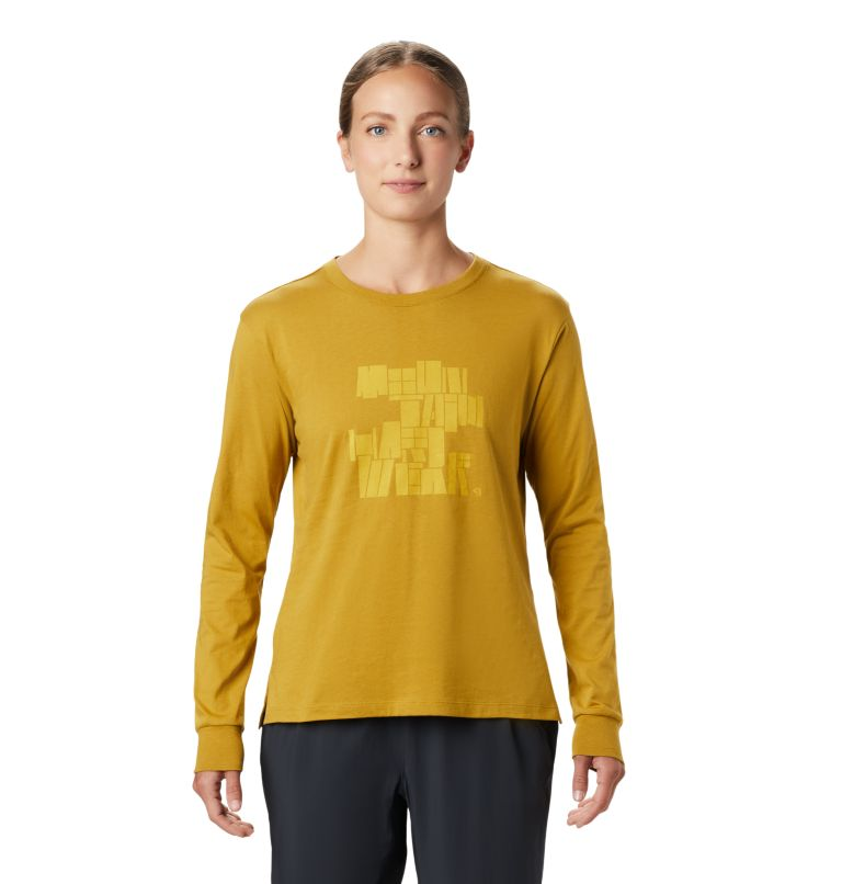 Women's MHW/Tomomi™ Long Sleeve T-Shirt Women's MHW/Tomomi™ Long Sleeve T-Shirt, front