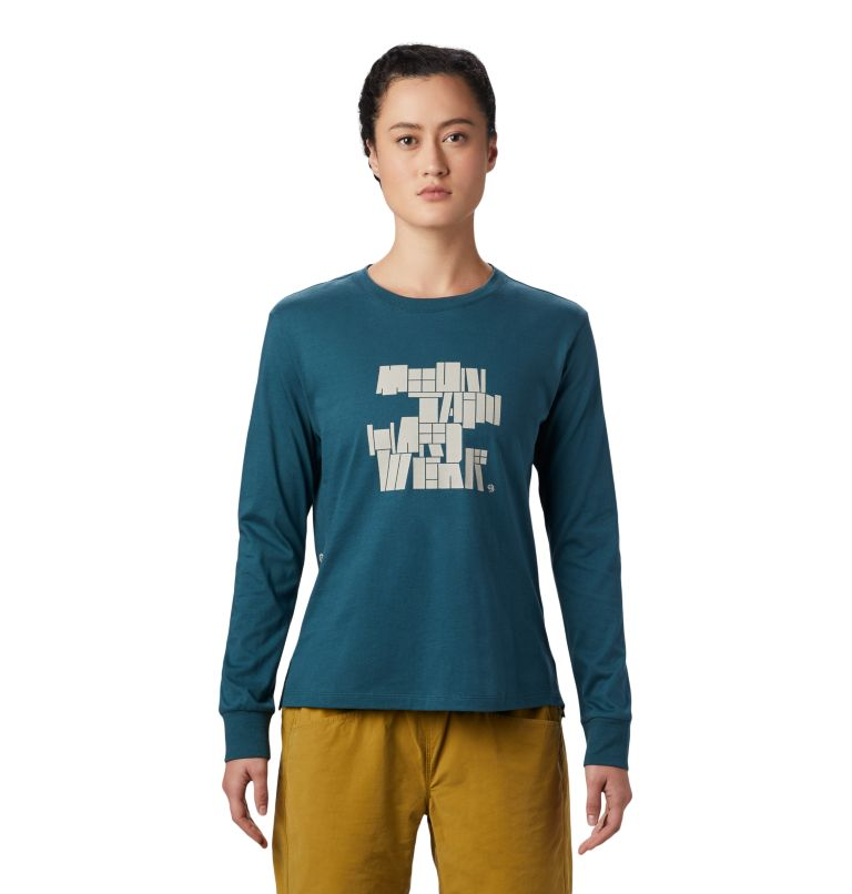 MHW/Tomomi™ Long Sleeve T | 324 | M Women's MHW/Tomomi™ Long Sleeve T-Shirt, Icelandic, front