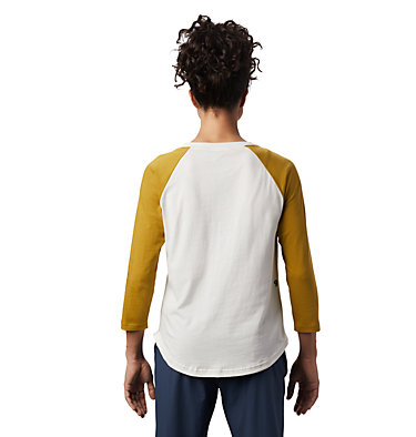 Women's Head in the Clouds™ Raglan 3/4 T-Shirt Head in the Clouds™ Raglan 3/4 T | 104 | L, Cotton, back
