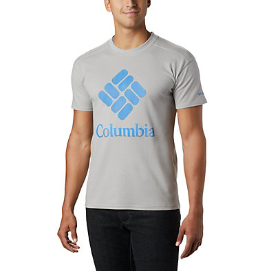 Columbia Lodge™ Logo Tee Columbia Lodge™ Logo Tee | 101 | L, Columbia Grey, Azure Blue, front