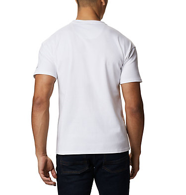 Columbia Lodge Logo™ Tee da uomo Columbia Lodge™ Logo Tee | 101 | L, White, back