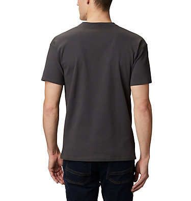Columbia Lodge Logo™ Tee da uomo Columbia Lodge™ Logo Tee | 101 | L, New Olive, Shark, Fossil, back