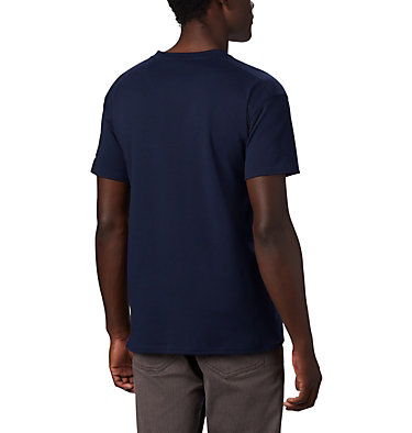 Columbia Lodge Logo™ Tee da uomo Columbia Lodge™ Logo Tee | 101 | L, Collegiate Navy, White, back