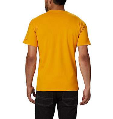Columbia Lodge™ Logo Tee Columbia Lodge™ Logo Tee | 101 | L, Bright Gold, Carnelian Red, back