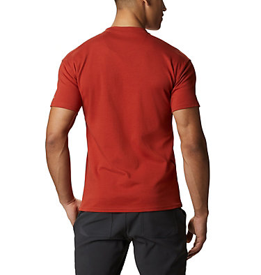 Columbia Lodge Logo™ Tee da uomo Columbia Lodge™ Logo Tee | 101 | L, Carnelian Red, Fossil, back