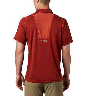 Polo Irico™ Homme M Irico™ Knit Polo | 369 | L, Carnelian Red, back