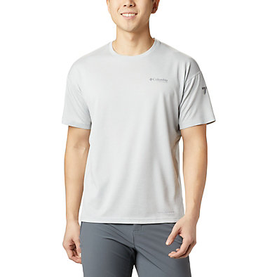 Men's Irico™ Knit Short Sleeve Crew M Irico™ Knit SS Crew | 010 | L, Cool Grey, front