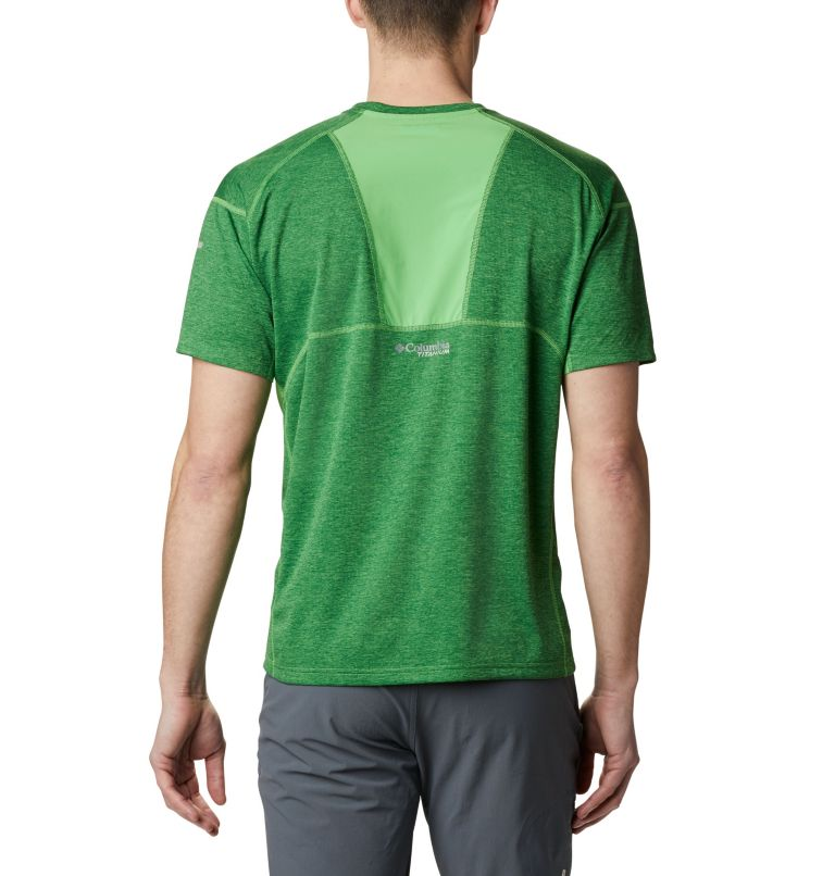 M Irico™ Knit SS Crew | 349 | S Men's Irico™ Knit Short Sleeve Crew, Green Boa, back