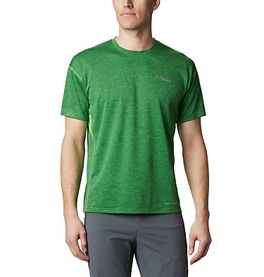 Men's Irico™ Knit T-Shirt M Irico™ Knit SS Crew | 349 | L, Green Boa, front