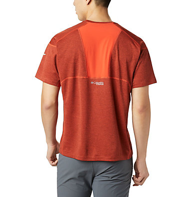 Men's Irico™ Knit T-Shirt M Irico™ Knit SS Crew | 349 | L, Wildfire, back