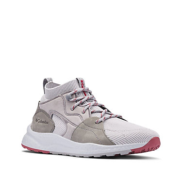 Women's SH/FT™ OutDry™ Mid Shoe SH/FT™ OUTDRY™ MID | 012 | 10, Grey Ice, Marsala Red, 3/4 front