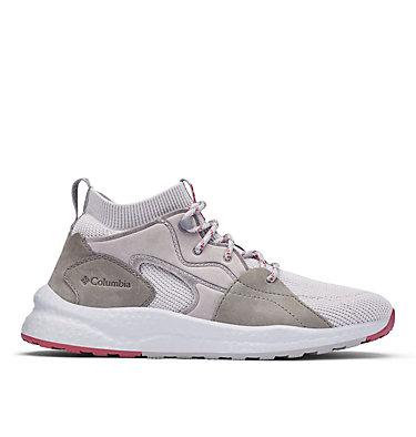Women's SH/FT™ OutDry™ Mid Shoe SH/FT™ OUTDRY™ MID | 012 | 10, Grey Ice, Marsala Red, front