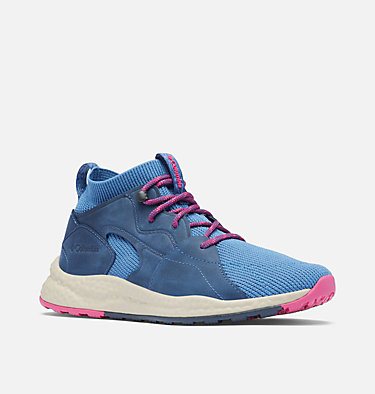Women's SH/FT™ OutDry™ Mid Shoe SH/FT™ OUTDRY™ MID | 461 | 5, Scout Blue, Fuchsia, 3/4 front