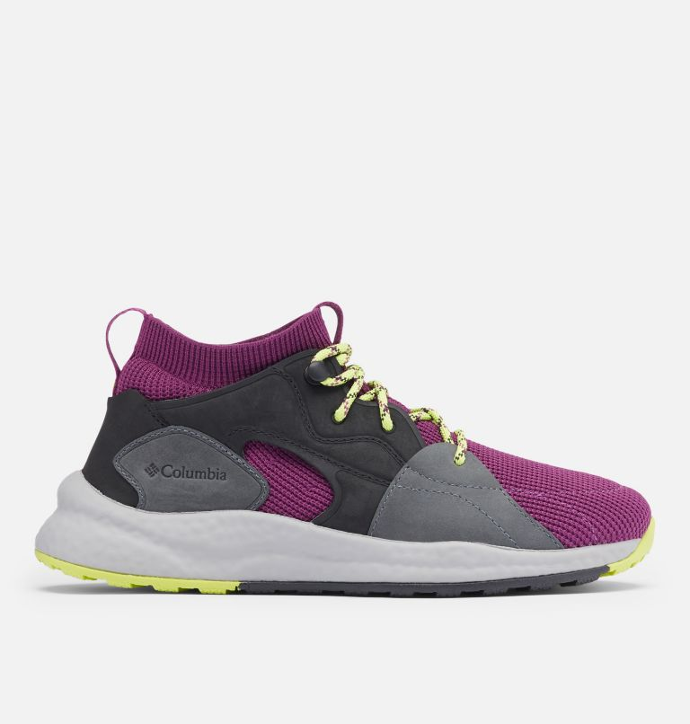 SH/FT™ OUTDRY™ MID | 594 | 8.5 Women's SH/FT™ OutDry™ Mid Shoe, Wild Iris, Voltage, front