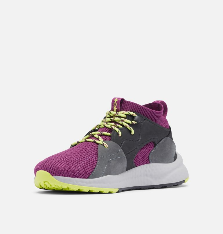 SH/FT™ OUTDRY™ MID | 594 | 8.5 Women's SH/FT™ OutDry™ Mid Shoe, Wild Iris, Voltage