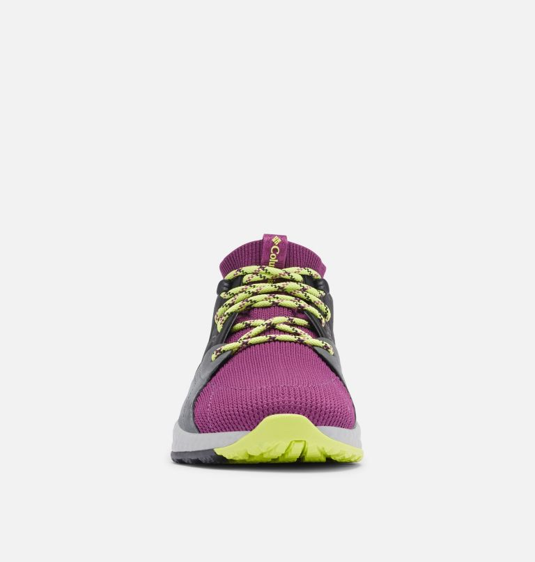 SH/FT™ OUTDRY™ MID | 594 | 8.5 Women's SH/FT™ OutDry™ Mid Shoe, Wild Iris, Voltage, toe
