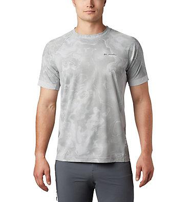 Men's Titan Pass™ Sun Deflector Tee M Titan Pass™ Sun Deflector Tee | 478 | L, Columbia Grey Collision Print, front