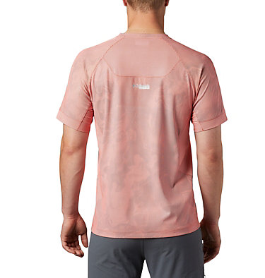 Men's Titan Pass™ Sun Deflector Tee M Titan Pass™ Sun Deflector Tee | 478 | L, Wildfire Collision Print, back