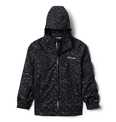 Boys' Rain Scape™ Jacket Rain Scape™ Jacket | 845 | L, Black Foil, front