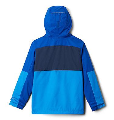 Boys' Rain Scape™ Jacket Rain Scape™ Jacket | 845 | L, Azure Blue, Azul, Collegiate Navy, back