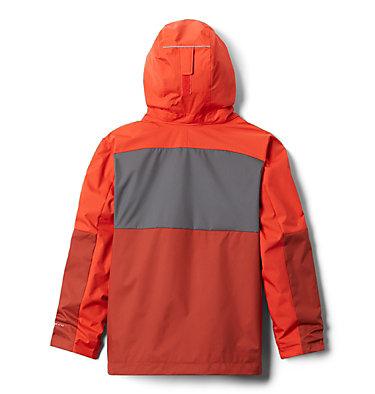 Boys' Rain Scape™ Jacket Rain Scape™ Jacket   845   L, Wildfire, Carnelian Red, City Grey, back