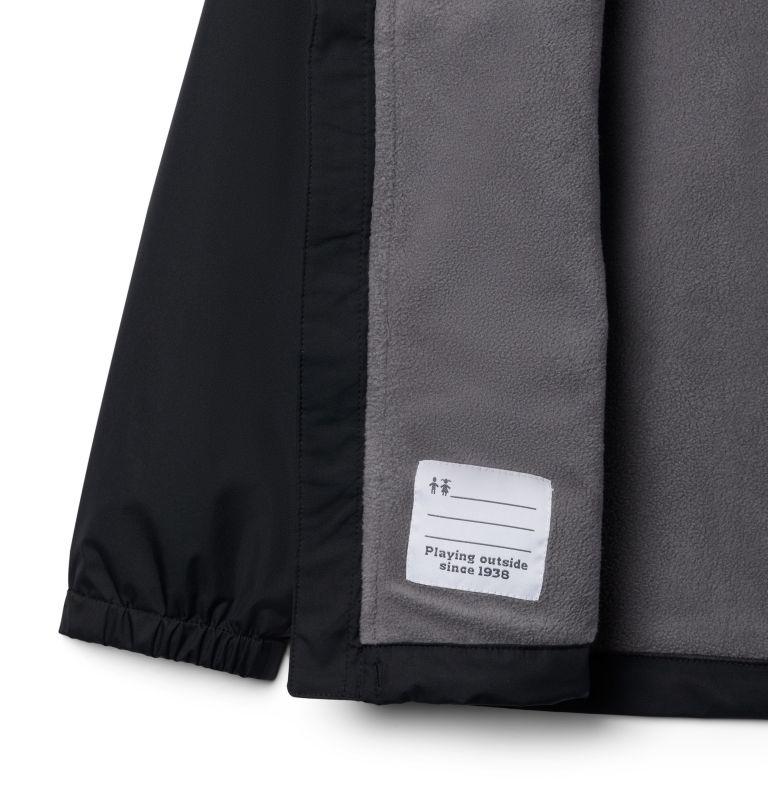 Rainy Trails™ Fleece Lined Jacket | 010 | XL Boys' Rainy Trails™ Fleece Lined Jacket, Black, a1