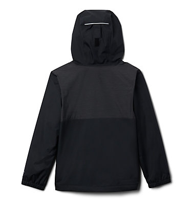 Boys' Rainy Trails™ Fleece Lined Jacket Rainy Trails™ Fleece Lined Jacket | 327 | L, Black, back