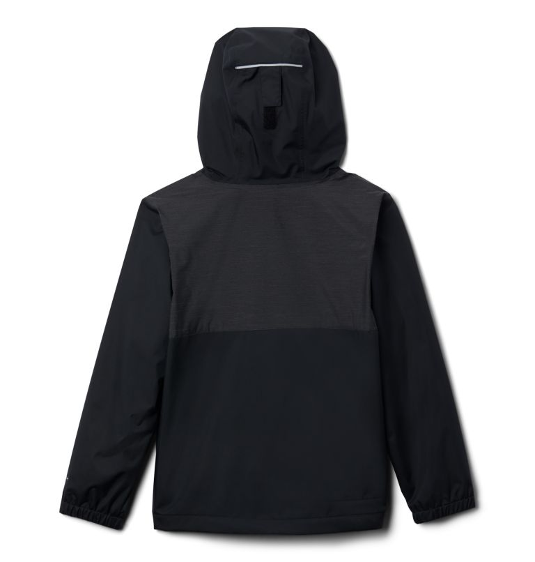 Rainy Trails™ Fleece Lined Jacket | 010 | XS Boys' Rainy Trails™ Fleece Lined Jacket, Black, back