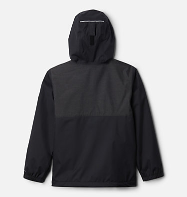 Boys' Rainy Trails™ Fleece Lined Jacket Rainy Trails™ Fleece Lined Jacket   465   XXS, Black, Black Slub, back