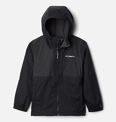 Boys' Rainy Trails™ Fleece Lined Jacket Rainy Trails™ Fleece Lined Jacket   465   XXS, Black, Black Slub, front