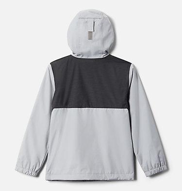 Boys' Rainy Trails™ Fleece Lined Jacket Rainy Trails™ Fleece Lined Jacket   465   XXS, Columbia Grey, Black Slub, back