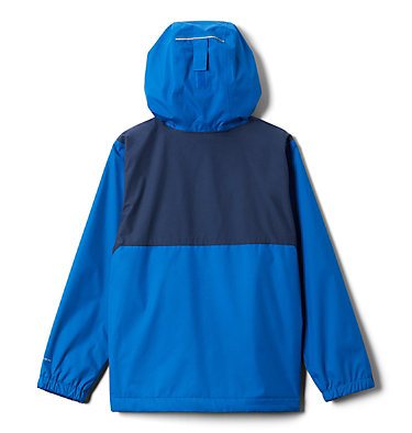 Manteau doublé de laine polaire Rainy Trails pour garçon Rainy Trails™ Fleece Lined Jacket | 432 | XXS, Bright Indigo, Coll Navy Slub, back