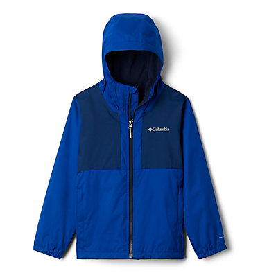 Boys' Rainy Trails™ Fleece Lined Jacket Rainy Trails™ Fleece Lined Jacket | 327 | L, Azul, Collegiate Navy, front