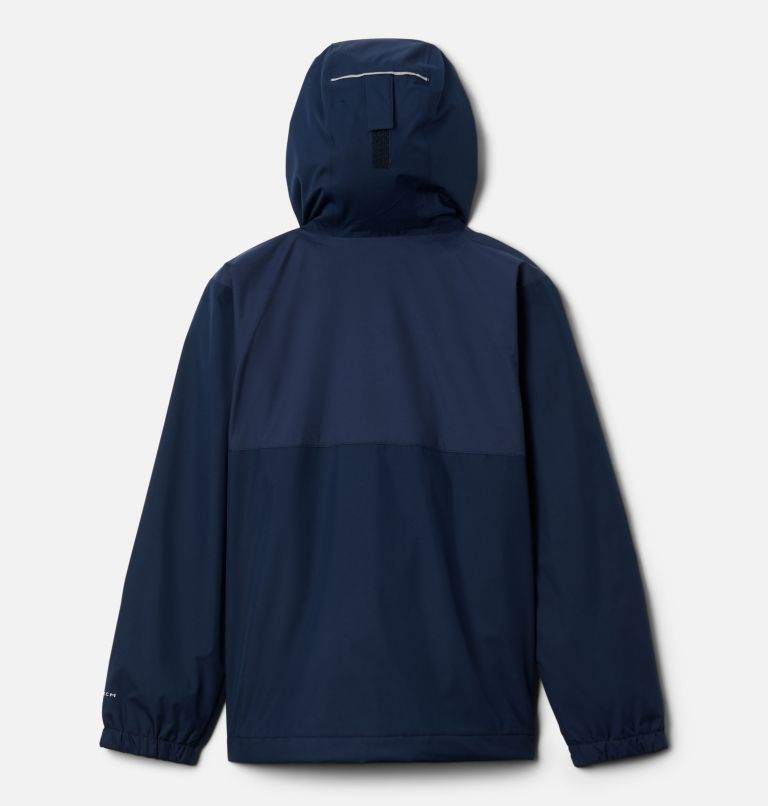Rainy Trails™ Fleece Lined Jacket | 465 | XXS Boys' Rainy Trails™ Fleece Lined Jacket, Coll Navy, Coll Navy Slub, back