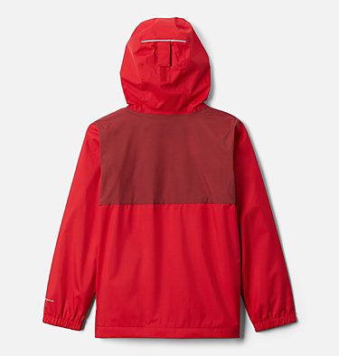 Manteau doublé de laine polaire Rainy Trails pour garçon Rainy Trails™ Fleece Lined Jacket | 432 | XXS, Mountain Red, back