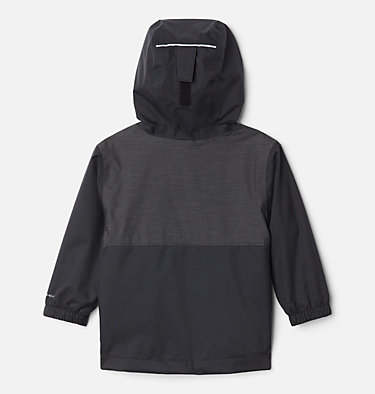 Boys' Toddler Rainy Trails™ Fleece Lined Jacket Rainy Trails™ Fleece Lined Jacket | 369 | 3T, Black, Black Slub, back
