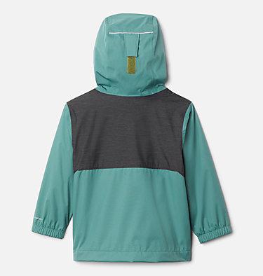 Boys' Toddler Rainy Trails™ Fleece Lined Jacket Rainy Trails™ Fleece Lined Jacket | 369 | 3T, Thyme Green, Black Slub, back