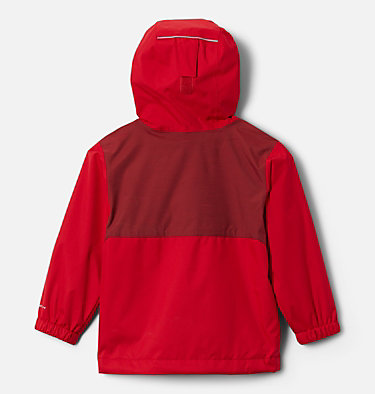Boys' Toddler Rainy Trails™ Fleece Lined Jacket Rainy Trails™ Fleece Lined Jacket | 369 | 3T, Mountain Red, back