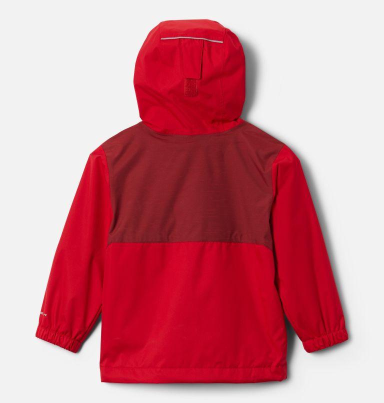 Rainy Trails™ Fleece Lined Jacket | 613 | 2T Boys' Toddler Rainy Trails™ Fleece Lined Jacket, Mountain Red, back