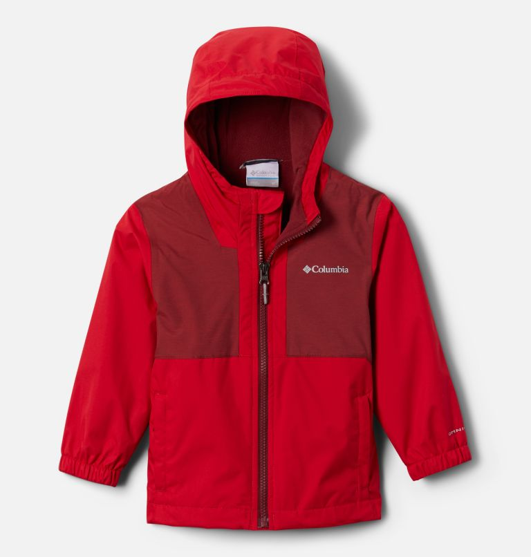 Manteau doublé de laine polaire Rainy Trails pour petit garçon Manteau doublé de laine polaire Rainy Trails pour petit garçon, front