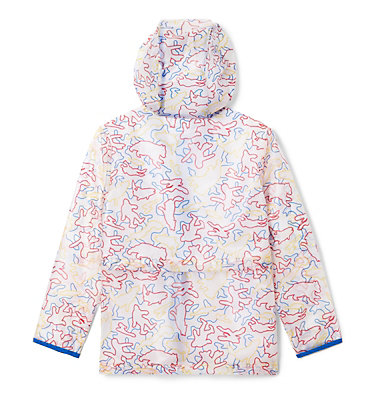 Kids' Translucent Trail™ Rain Slicker Translucent Trail™ Rain Slicker | 100 | L, Collegiate Navy Camo Critters, back