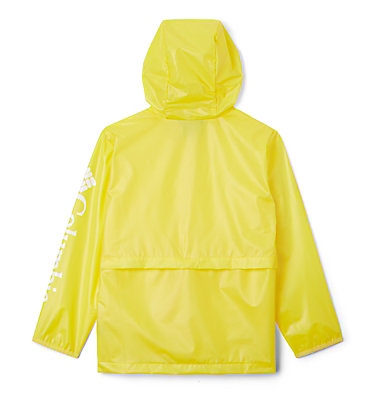 Kids' Translucent Trail™ Rain Slicker Translucent Trail™ Rain Slicker | 100 | L, Buttercup, back