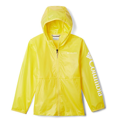 Kids' Translucent Trail™ Rain Slicker Translucent Trail™ Rain Slicker | 100 | L, Buttercup, front