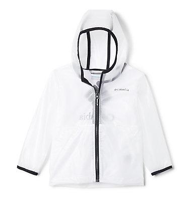 Toddler Translucent Trail™ Rain Slicker Translucent Trail™ Rain Slicker | 100 | 2T, White, front