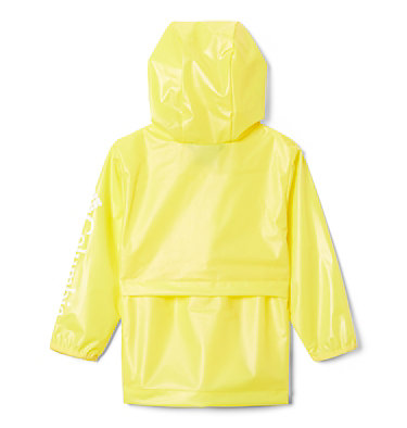 Toddler Translucent Trail™ Rain Slicker Translucent Trail™ Rain Slicker | 100 | 2T, Buttercup, back