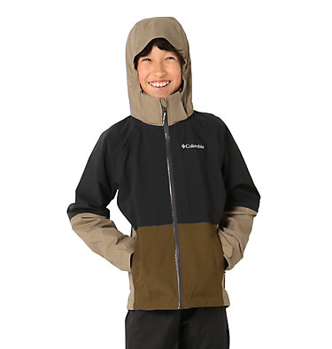 Kids' Evolution Valley™ Jacket Evolution Valley™ Jacket | 440 | L, Black, New Olive, front