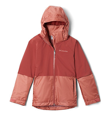 Kids' Evolution Valley™ Jacket Evolution Valley™ Jacket | 440 | L, Dusty Crimson, Dark Coral, back