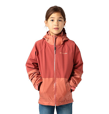 Kids' Evolution Valley™ Jacket Evolution Valley™ Jacket | 440 | L, Dusty Crimson, Dark Coral, front