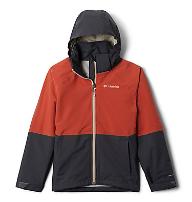Kids' Evolution Valley™ Jacket Evolution Valley™ Jacket | 440 | L, Carnelian Red, Shark, front